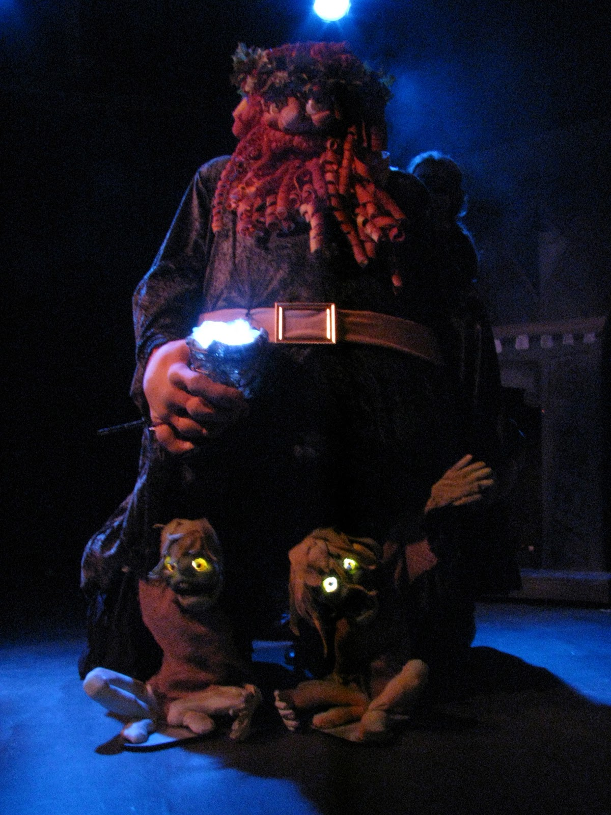 Backstage Theatre Blog: The Ghost of Christmas Present reveals Want and Ignorance in A CHRISTMAS ...