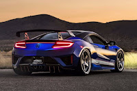 Acura NSX Dream Project (2017) Rear Side