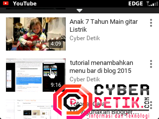 Cara Baru Download Video Yautube di Blackberry