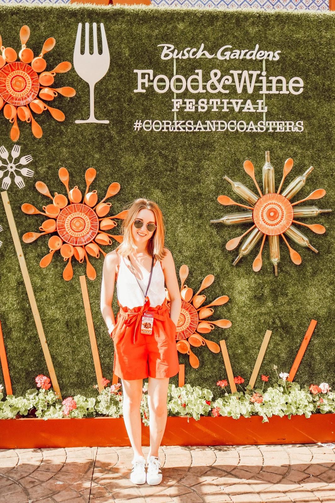 Busch Gardens Food & Wine Festival | Lucky Day