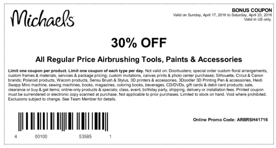Cricut coupons for michaels