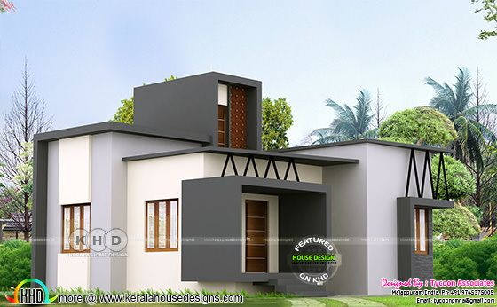 ₹14 Lakhs Budget Kerala home design