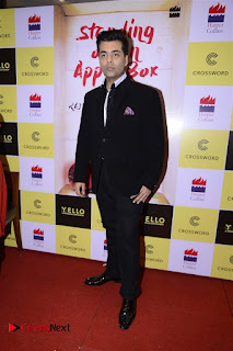 Sonakshi Sinha Karan Johar at Aishwarya Rajinikanth Standing on an Apple Box Book Launch Event  0017.jpg