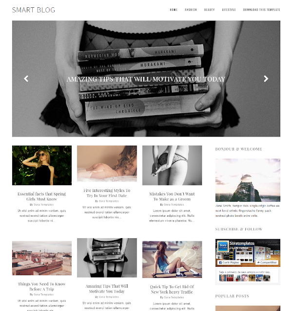Smart Blog - Personal Blogger Template