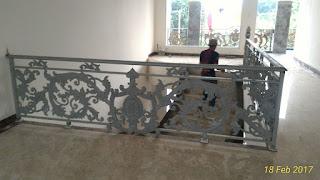 Railing Balkon Besi Tempa Bogor