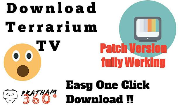 Download Terrarium TV Patch Version