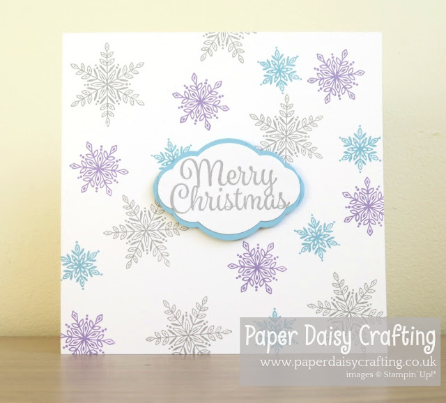 Snow is Glistening - Stampin Up