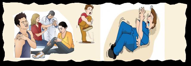 تشنجات عضلية مؤلمه بسبب نقص افراز الباراثورمون