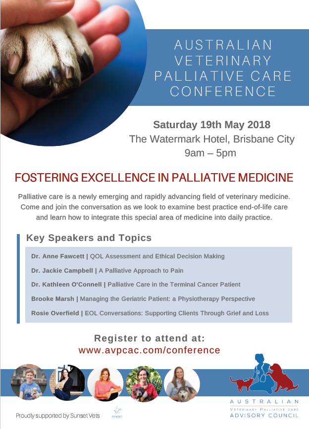 How To Talk About Drugs With Someone I Care About Australian >> Small Animal Talk Veterinary Palliative Care