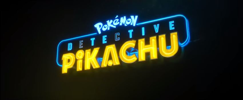 POKÉMON Detective Pikachu 2019 Movie Rob Letterman written by Nicole Perlman and Letterman starring Ryan Reynolds, Justice Smith, Kathryn Newton and Ken Watanabe showing May 10, 2019