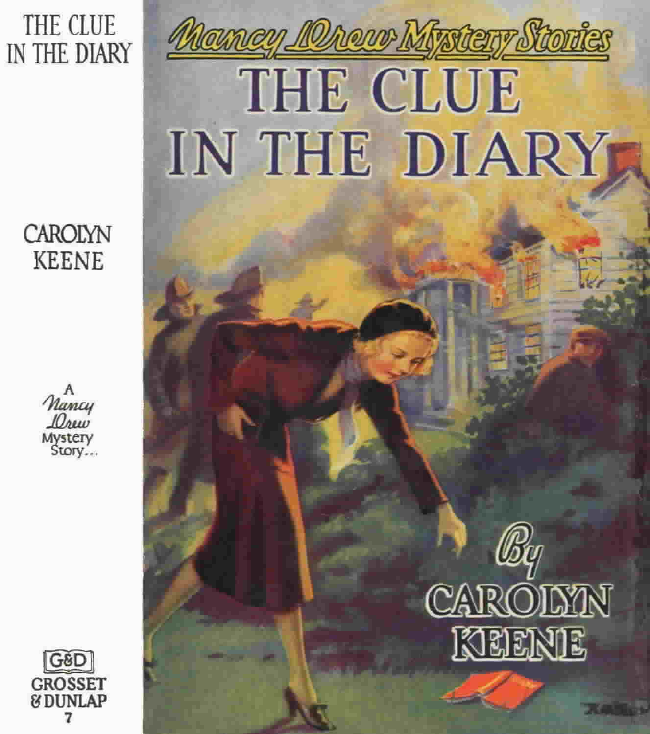 The LiteraryGrrrl: BOOK REVIEW: Nancy Drew Mystery Stories