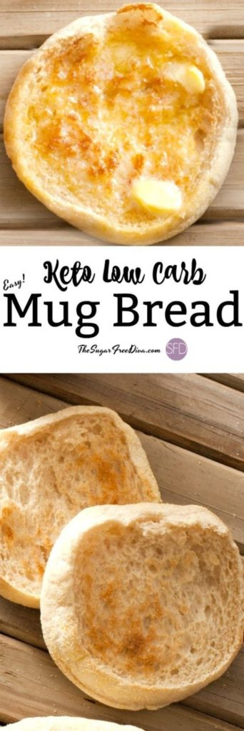 Keto Low Carb Mug Bread Recipe