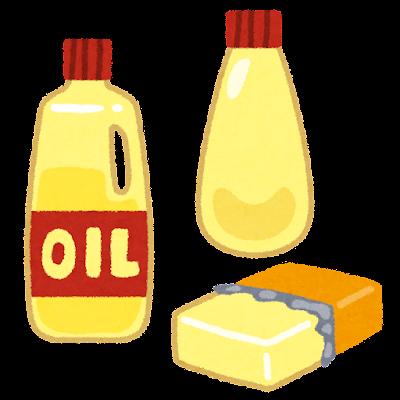 脂質のイラスト(栄養素)