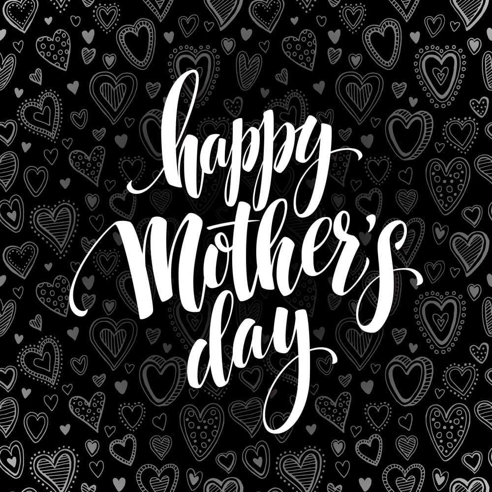 Mothers Day Pictures black color