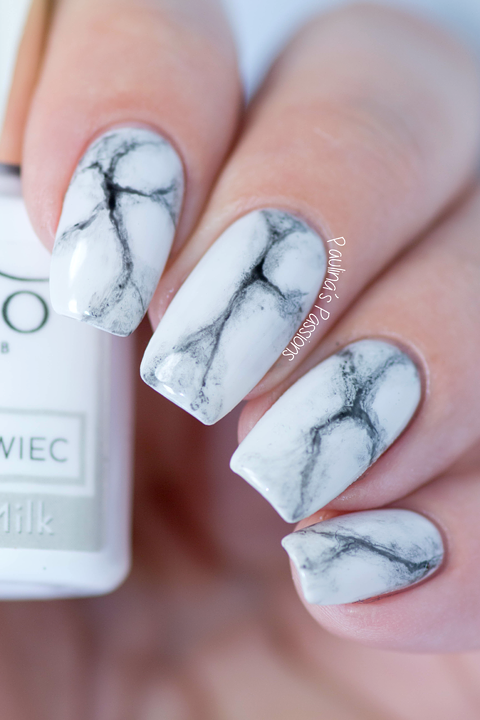 Marble Nails Tutorial With Gels