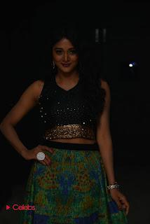 Sushma Raj in a Very Beautiful Black Linene Choli and Elastic Skirt Spicy Pics at Nayaki Audio Launch