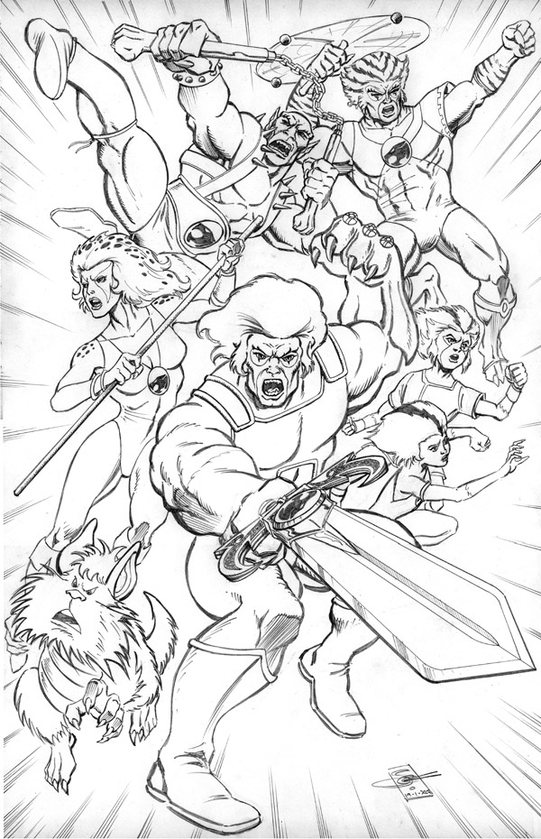 Dibujos thundercats para colorear imagui for Coloring pages thundercats