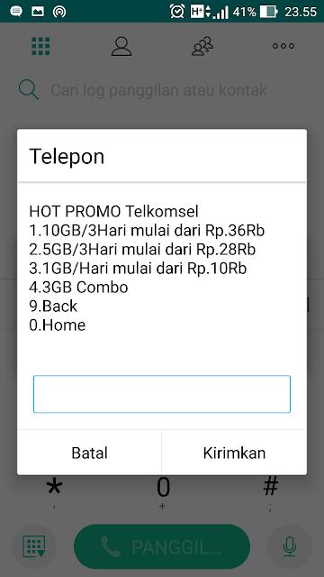 Paket Internet Murah HOT PROMO Telkomsel Tahun Baru