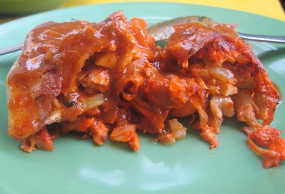 Chicken Murtabak Singapura