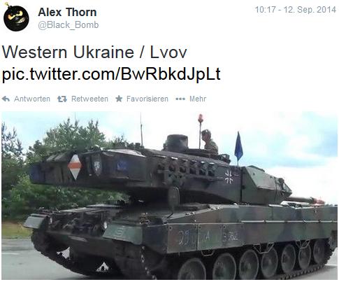 Deutsche Panzer Ukraine