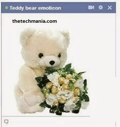 facebook chat emotions Teddy Bear