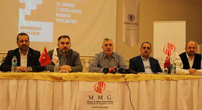 Diyarbakır'da MMG idare kurulu toplantısı gerçekleştirildi