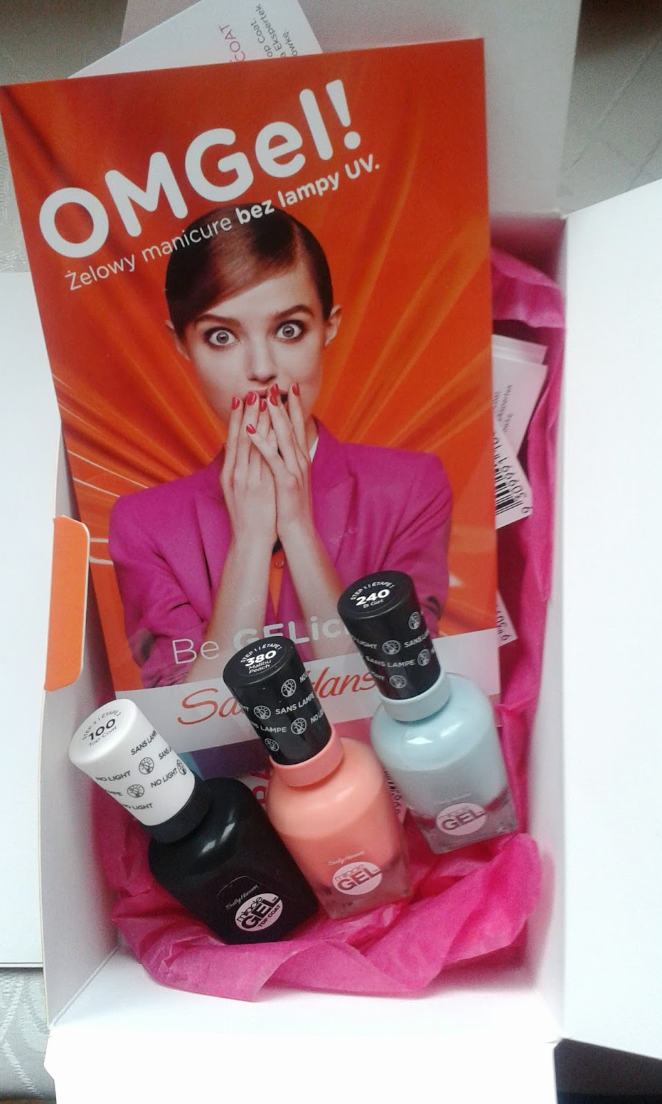 Sally Hansen Miracle Gel – manicure żelowy bez użycia lampy UV