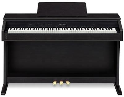 Điểm khác biệt của đàn piano điện Casio Celviano và Casio Privia