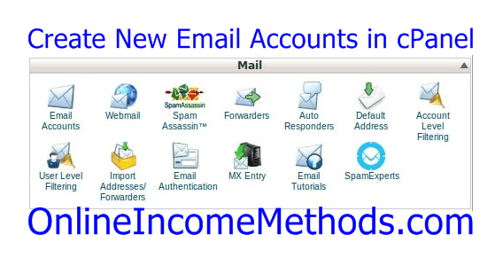 How To Create New Email Accounts and Access WebMail in cPanel?