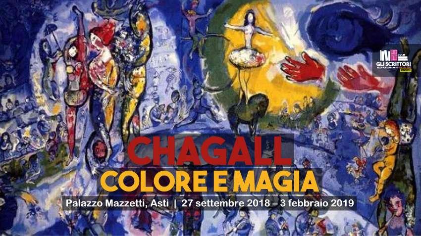 Colore e magia: Chagall in mostra ad Asti
