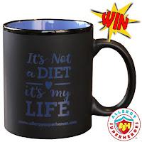 black mug diet life