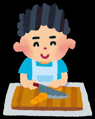 料理のイラスト「男の子」
