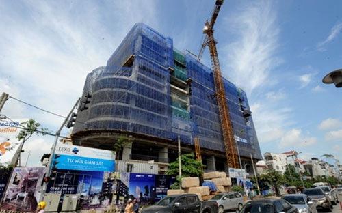 Cận cảnh tiến độ thi công dự án FLC Star Tower