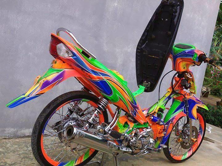Gambar Modifikasi Motor Yamaha Vega ZR Terbaru