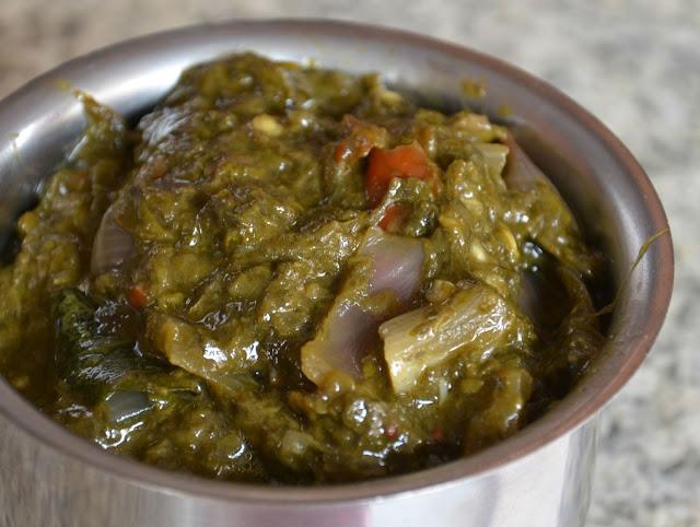 Gurugaaku Pulagura Pulagoora wild greens curry