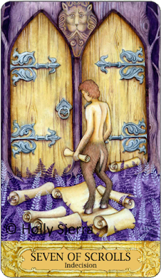 Chrysalis Tarot Seven of Scrolls