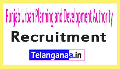 Punjab Urban Planning and Development Authority PUDA Recruitment Notification