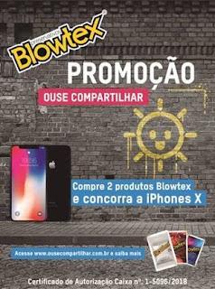 Promoção Blowtex 2018