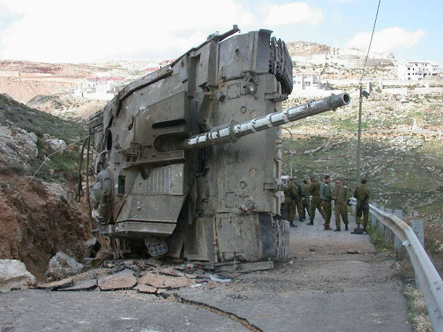 Israel Baits the Hook. Will Syria Bite? 95905_2006-08MerkavadestroyedinSouthofLebanon-7857311