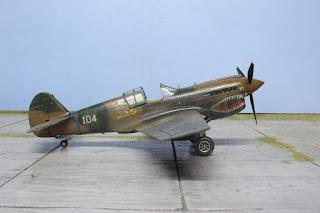 Hasegawa P-40E 1/48.