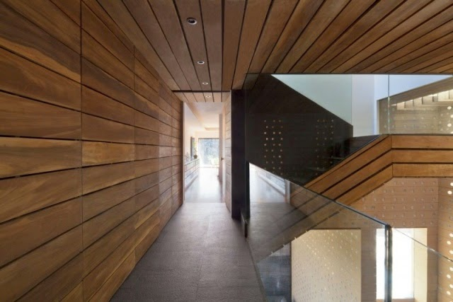 Sophisticated decorative wooden wall paneling for modern - Architectural wood interior wall panels ...