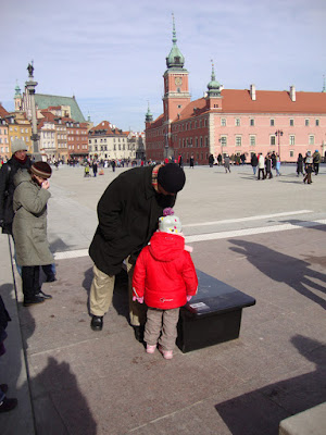 Chopin Music Bench in Warsaw, 2010 Photo by Maja Trochimczyk