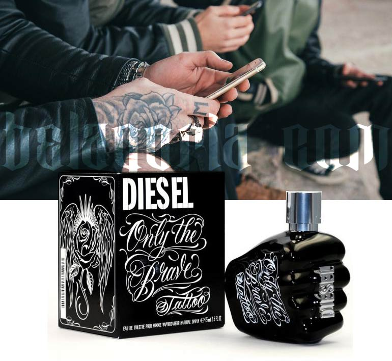 Imagen de milenials y perfume de diesel tattoo