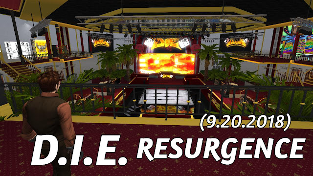 D.I.E. RESURGENCE In Second Life (9.20.2018) • Second Life Wrestling