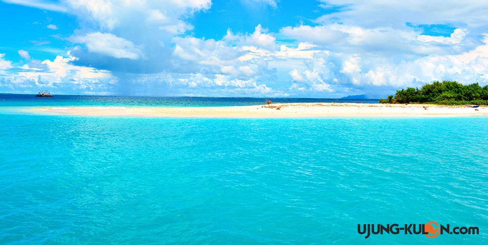 pulau badul ujung kulon