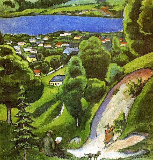 August Macke German Expressionist