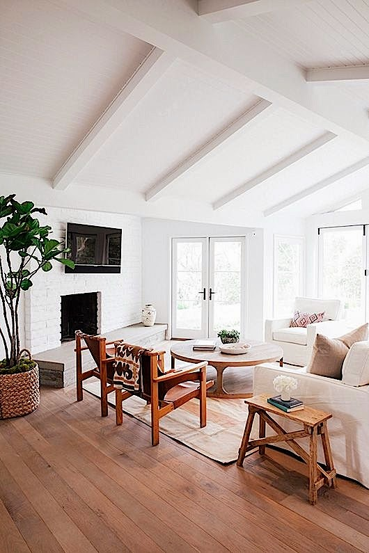 Vaulted Ceiling Living Room Decor Ideas: COCOCOZY: WOOD CEILINGS