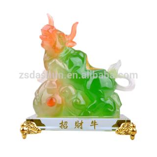 Hiasan Feng shui sapi - hoki dan keberuntungan