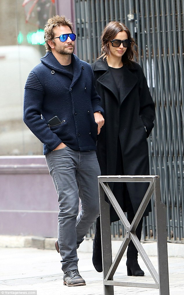 Bradley Cooper and Irina Shayk silence break-up rumors, enjoy romantic stroll in Paris 1