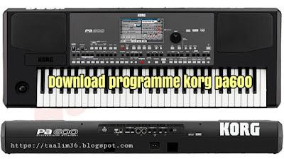 télécharger programme rai korg pa600 original gratuit
